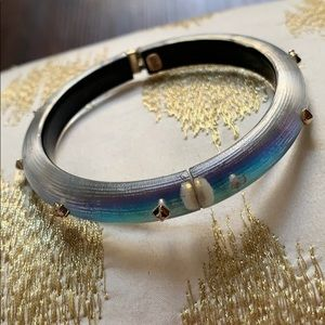 Enchanting Alexis Bittar Hinged Bangle Sold Out